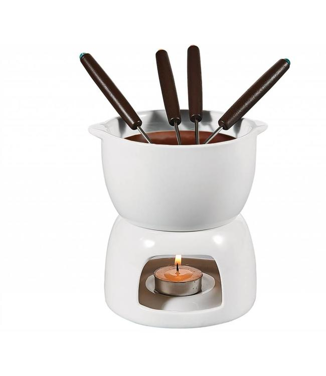 A LA CUISINE FONDUE SET WHITE (MP6)