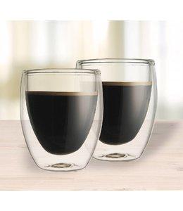 SET OF 2 DOUBLE WALL COFFEE MUG 350ml (MP6)