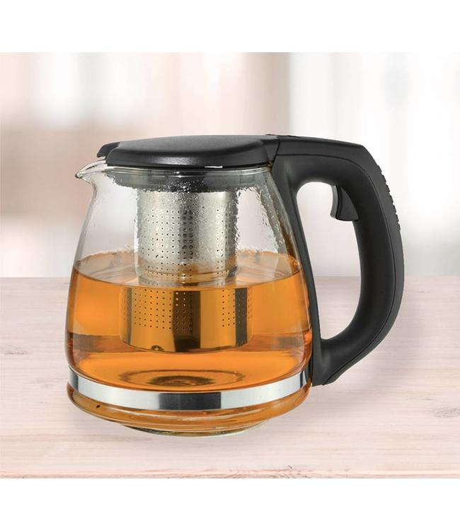 GLASS TEA POT WITH INFUSER 900ml (MP6)