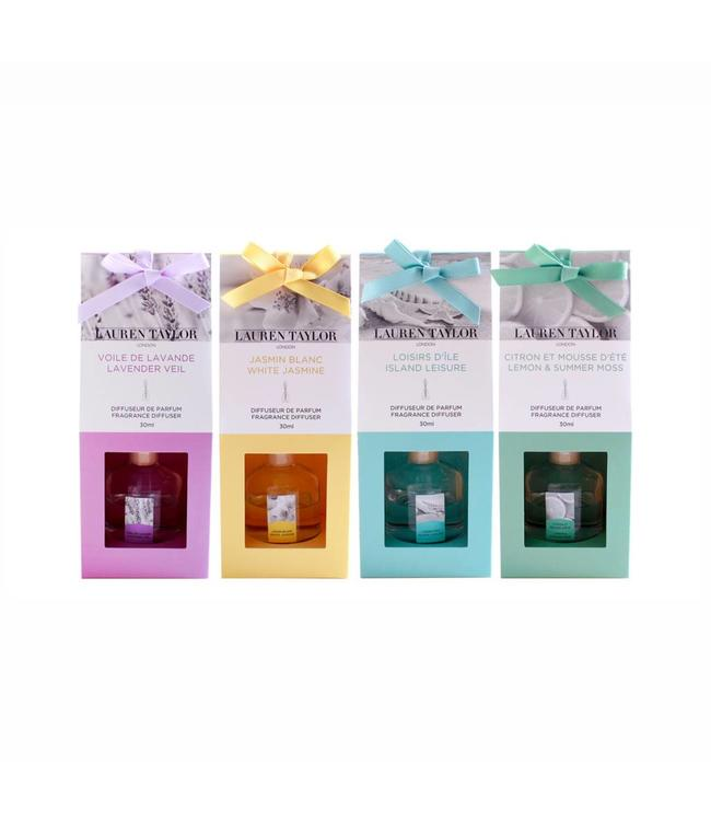 LAUREN TAYLOR REED DIFFUSER AST 30ml (MP24)