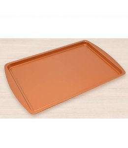 "A LA CUISINE COPPER NON-STICK COOKIE SHEET 17X11"" (MP12)"