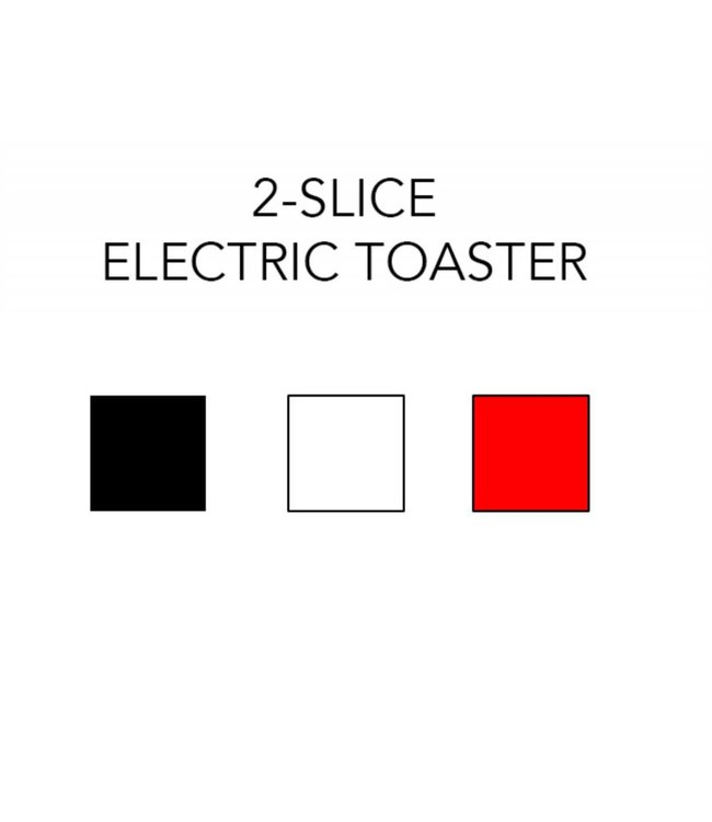 A LA CUISINE 2 SLICE ELECTRIC TOASTER (MP8)