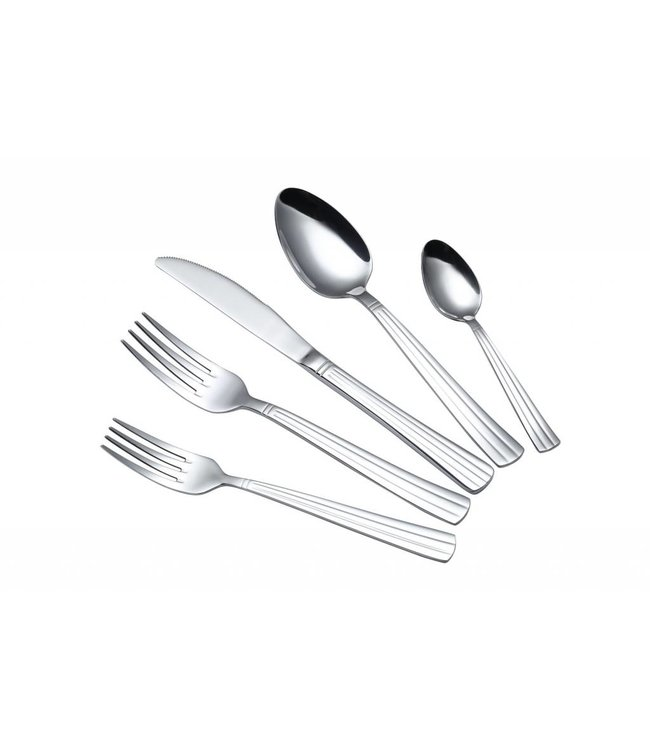 A LA CUISINE 20PCS MIRROR CUTLERY SET (MP12)