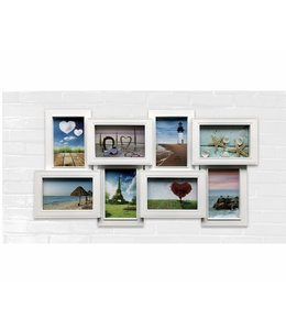 "LAUREN TAYLOR 8 PHOTO FRAME COLLAGE 24X13"" AST (MP12)"