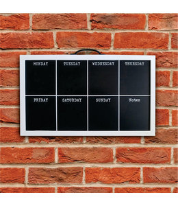 """LAUREN TAYLOR DAILY REMINDER WALL ART 20X12"""" BLACK/WHITE (MP8)"""
