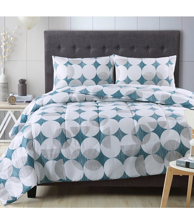 ADRIEN LEWIS PIETRO 3PCS COMFORTER SET (MP2)
