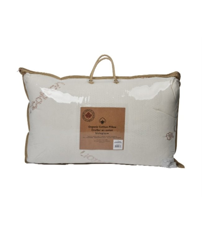 "MAISON CONDELLE ORGANIC COTTON KNITTED COVER PILLOW 18.5x28.5"" (MP12)"