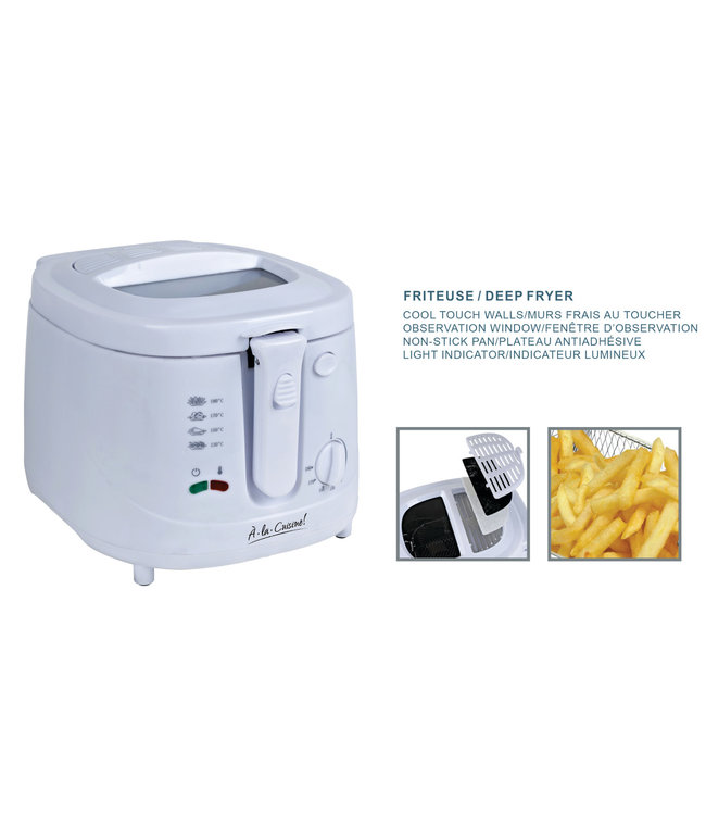 A LA CUISINE ELECTRIC DEEP FRYER 2.5L (MP4)