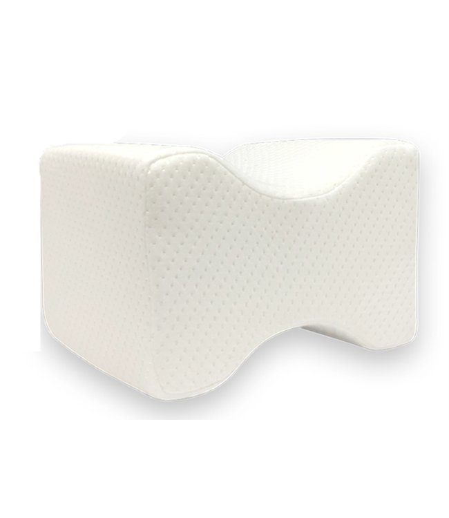 "MAISON CONDELLE MEMORY FOAM KNEE PILLOW WHITE 10X8X6"" (MP6)"