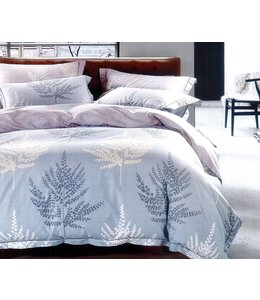 LAUREN TAYLOR *KAYA 3PCS COMFORTER SET BLUE (MP2)