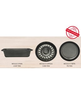 A LA CUISINE 3PC NON-STICK VALUE BAKEWARE SET (MP4)