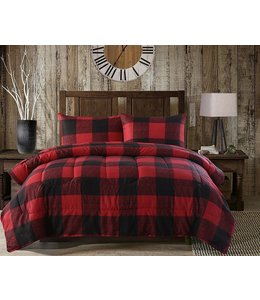 ADRIEN LEWIS *BALDWIN BUFFALO PLAID 3PC COMFORTER SET (MP2)