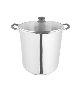 A LA CUISINE STOCK POT w/GLASS LID