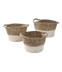 LAUREN TAYLOR RUSH STORAGE BASKET (MP2)