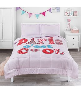 LITTLE ADRIEN PARIS C'EST COOL COMFORTER SET MULTI (MP2)