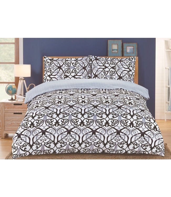 *ENYA COLLECTION DUVET COVER (MP6) JONI TWIN
