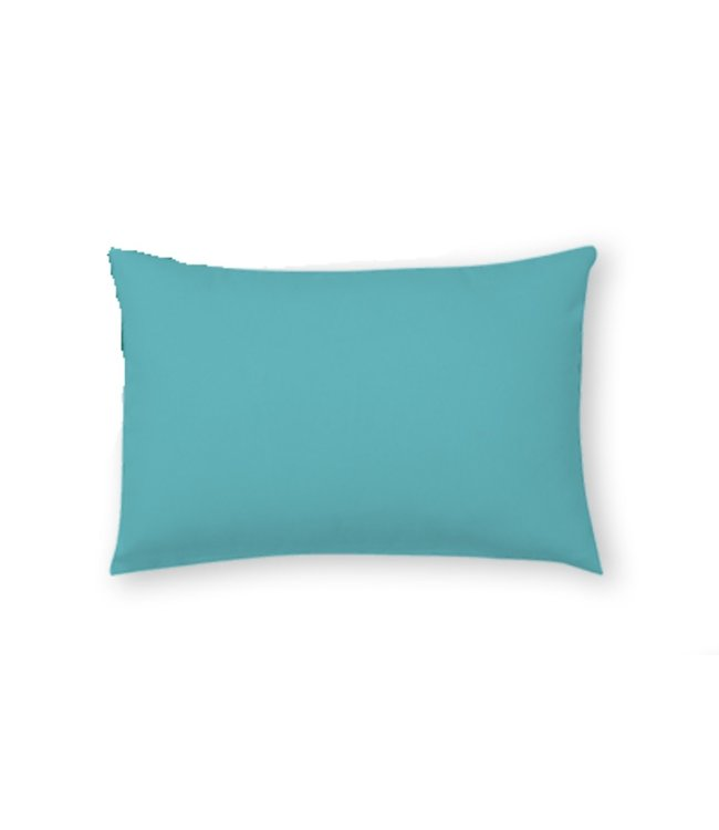 "SOLID OUTDOOR LUMBAR CUSHION TURQUOISE 13X19"" (MP8)"