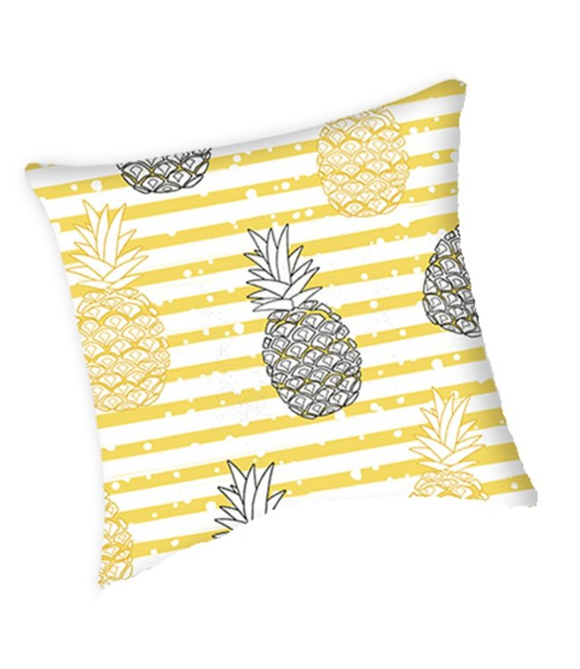 "PINEAPPLE OUTDOOR CUSHION MULTI 17X17"" (MP8)"