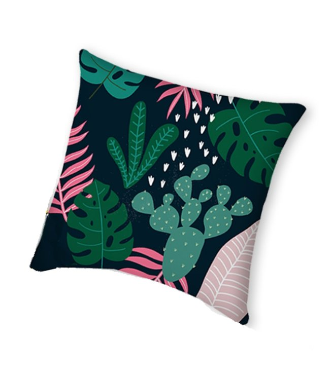"TROPICAL OUTDOOR CUSHION MULTI 17X17"" (MP8)"