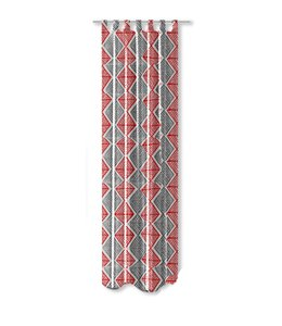 """DIAMOND COLLECTION PRINTED OUTDOOR PANELS GREY/RED (MP12) 52X90"""""""