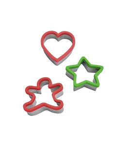 A LA CUISINE COOKIE CUTTER WITH SILICONE BORDER (MP96)