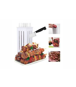 A LA CUISINE 16 SLOT KEBAB MAKER WHITE (MP6)