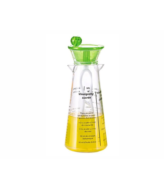 A LA CUISINE DRESSING SHAKER 400ml GREEN (MP8)