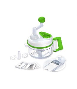 A LA CUISINE MULTI FUNCTION FOOD SHREDDER & PROCESSOR WHITE/GREEN (MP6)