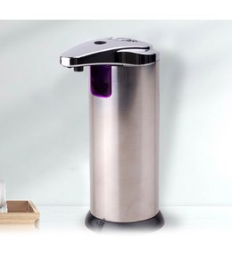 STUDIO 707 *AUTOMATIC SOAP DISPENSER STAINLESS STEEL 220ml (MP12)