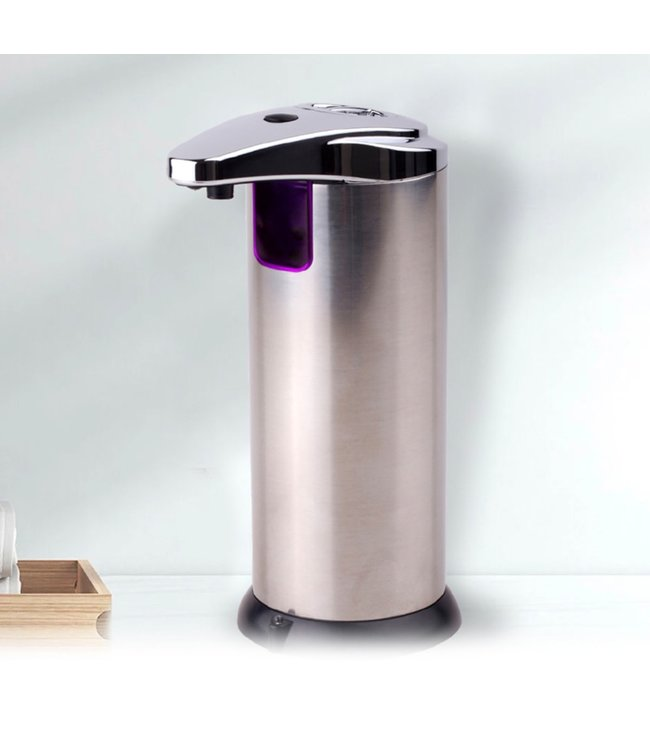 STUDIO 707 AUTOMATIC SOAP DISPENSER STAINLESS STEEL 220ml (MP12)