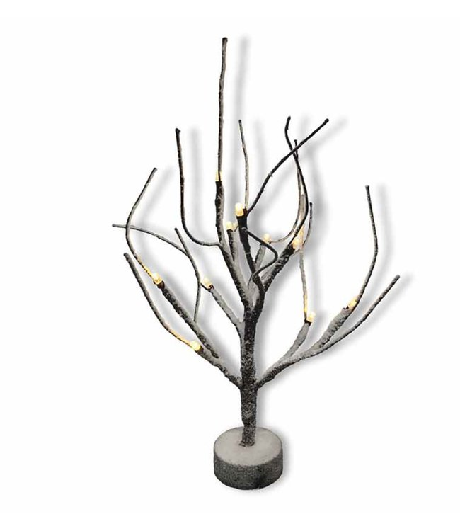 "LAUREN TAYLOR LED 10 LT SNOW TREE 10"" (MP12)"