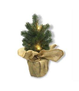 """LAUREN TAYLOR LED MINI PINE TREE 12"""" (MP6)"""