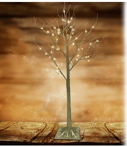 "LAUREN TAYLOR LED 48LT CHAMPAGNE GLITTER TREE 47"" (MP6)"