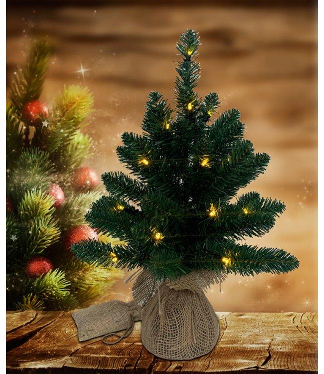 "LAUREN TAYLOR LED PINE TREE 18"" (MP6)"
