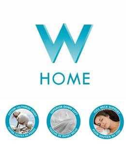 W HOME FIRM - EUROPEAN DOWN PILLOW (MP6)