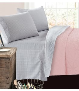 mari & mac CHICKADEES MICRO FIBER PRINTED AST SHEET SET (MP4) TWIN