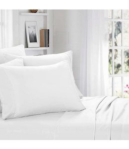 BACK TO BASICS MICROFIBER SHEET SET WHITE (MP10)