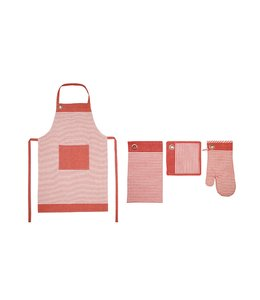 MASSIMO COUNTRY COTTON 4PCS KITCHEN SET (MP10)