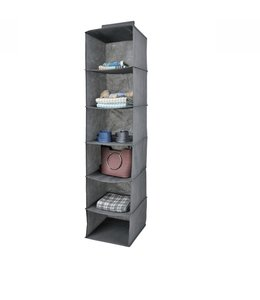 "ADRIEN LEWIS 6 SHELF HANGING ORGANIZER 12X12X50"" (MP24)"