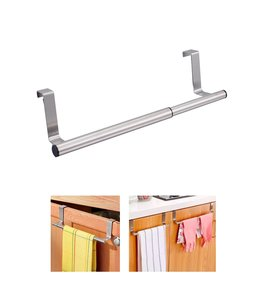 "A LA CUISINE OVER THE DOOR EXTENDABLE KITCHEN TOWEL BAR 10 - 15.75"" (MP12)"