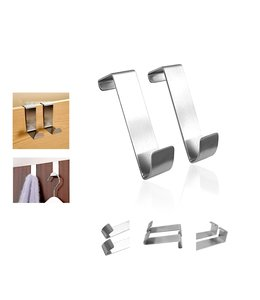 A LA CUISINE SET OF 2 OVER THE DOOR HOOKS (MP12)