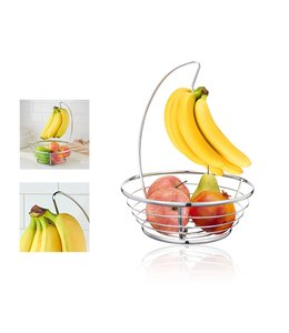 "A LA CUISINE FRUIT BASKET w/BANANA HOLDER 13"" (MP12)"
