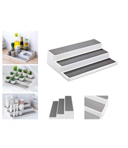 "A LA CUISINE NON SLIP 3 STEP SPICE SHELF AST 14.25X9.5X3.3"" (MP6)"