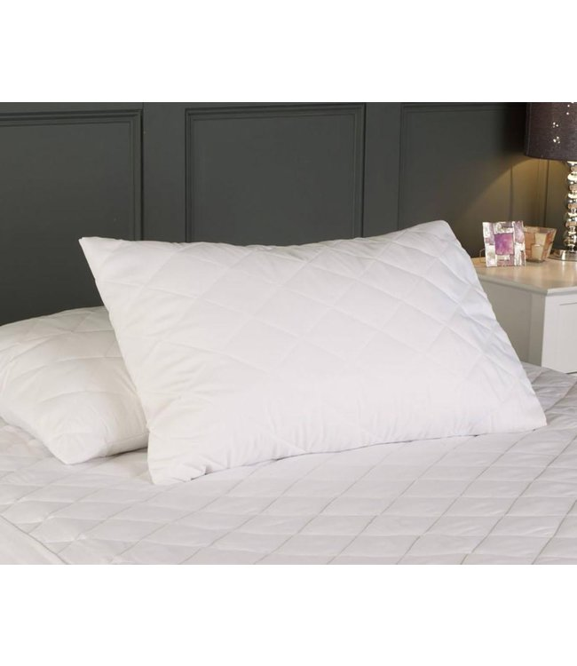 *TRIPLE COTTON PILLOW PROTECTOR (12bx)