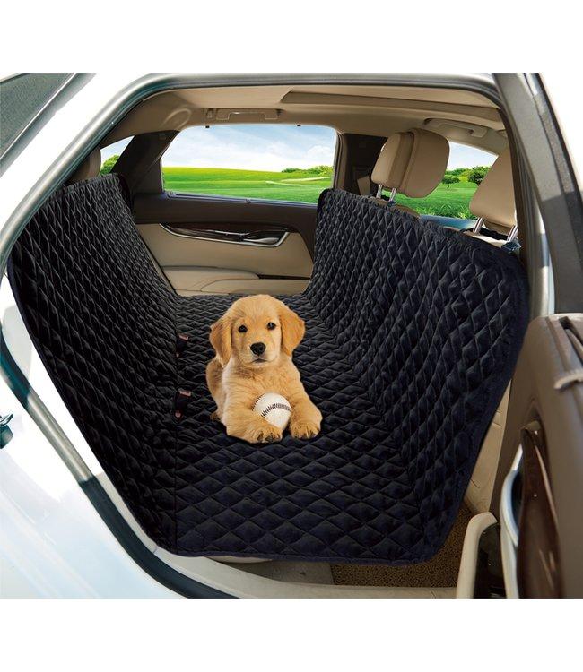 "LAUREN TAYLOR PET CAR SEAT PROTECTOR BLACK 58X58"" (MP8)"