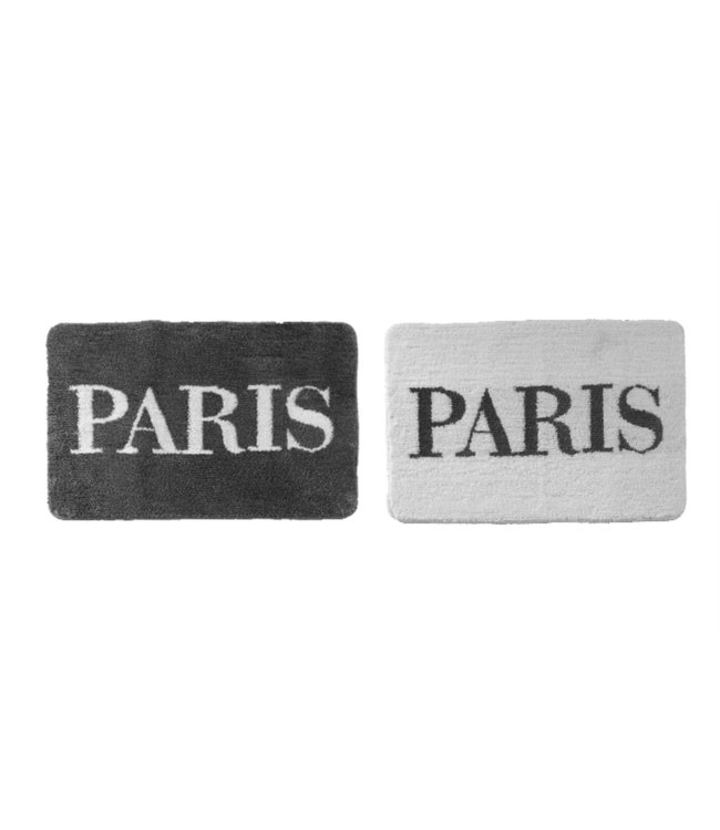 PARIS BATH MAT WHITE 20X30 (MP12)
