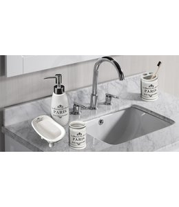 PARIS 4PC BATHROOM ACCESSORY SET (MP12)