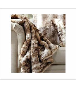 "THOR FAUX FUR THROW AST 50X60"" (MP12)"
