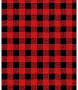 "LAUREN TAYLOR MICRO MINK BLANKET 78X94"" (MP3) BUFFALO PLAID"