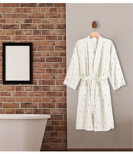 "CELESTE FLEECE/FOIL STARS BATHROBE 39"" LENGTH (MP6)"